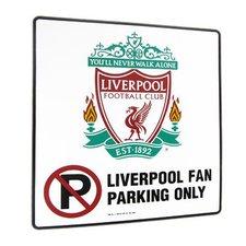 Liverpool - 'No Parking' Skylt