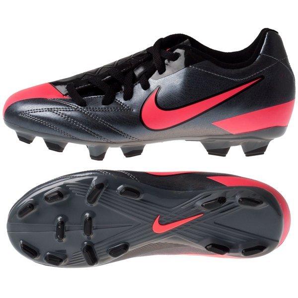 7dad1d7df Nike Total90 Shoot IV FG Black Pink Kids
