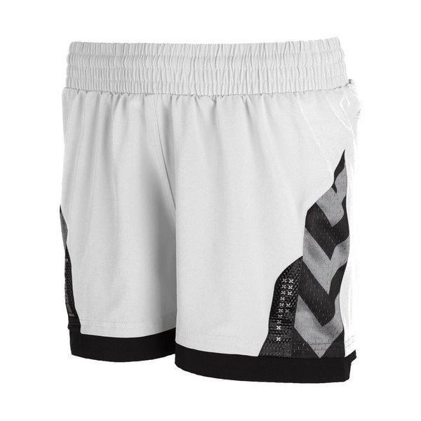hvit shorts dame