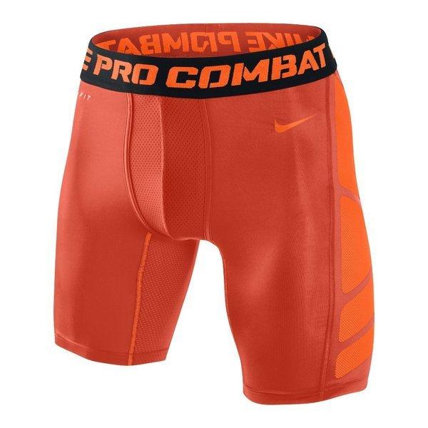 Nike Pro Combat Hypercool 2.0 Shorts 6'' Orange