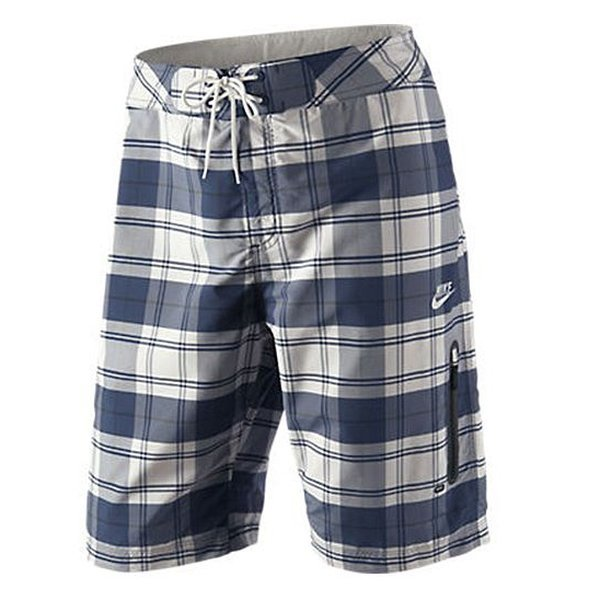 Nike Board Shorts Plaid BlueWhite