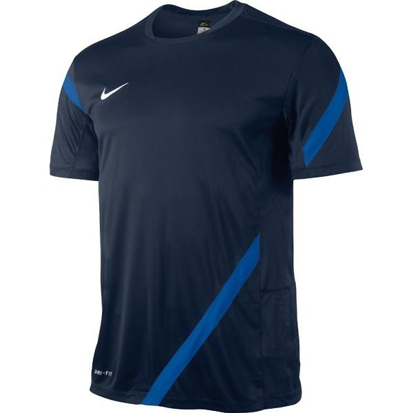 Nike training shirt competition 12 navy blue www for Navy blue and white nike shirt