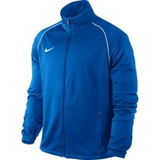 nike træningsjakke foundation 12 sideline poly blå børn -