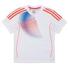 adidas t-shirt predator white/orange kids -