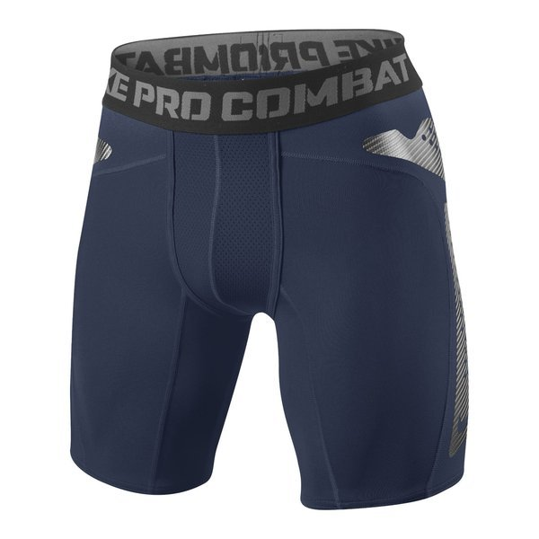 Nike Pro Combat Hyperstrong Compression Shorts Dark Navy