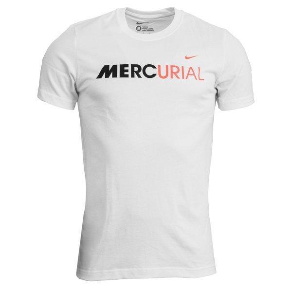 Nike Mercurial T Shirt Hvid