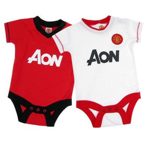 750cccb5fdf Manchester United 2 Pack Bodysuit 12 18 Months
