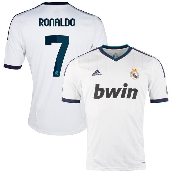 finest selection e55cd e0d0f Real Madrid Home Shirt 2012/13 RONALDO 7