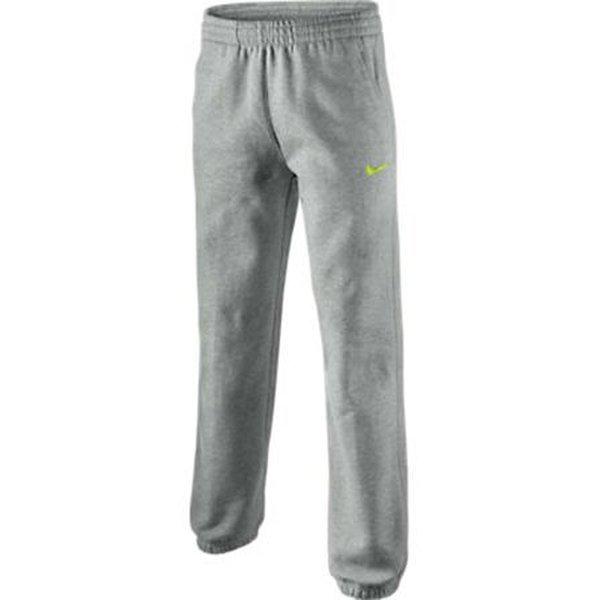 Joggingbroek Kinderen.Nike Joggingbroek Cuff Grijs Neon Kinderen Www Unisportstore Nl