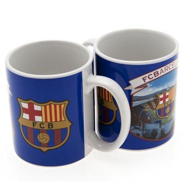 Barcelona mug logo stadium for Mug barcelona