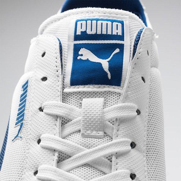 Mesh Lite Puma Archive Hvidblå Low b6gf7y