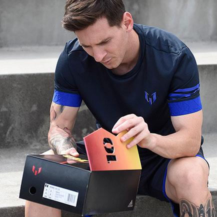 adidas onthult hun onwijs gelimiteerde Messi 10/10