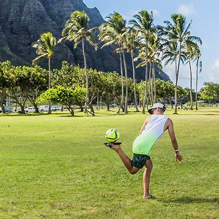 Unisport World Tour: Joltter erlebt den Fußball...