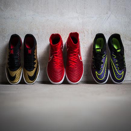 De Nike FootballX zaalschoenen zijn klaar om in...