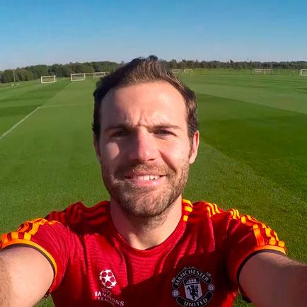 Messi, Neuer und Juan Mata lernen von einander ...