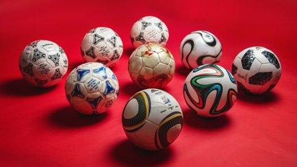 L'histoire des ballons de la Coupe du Monde