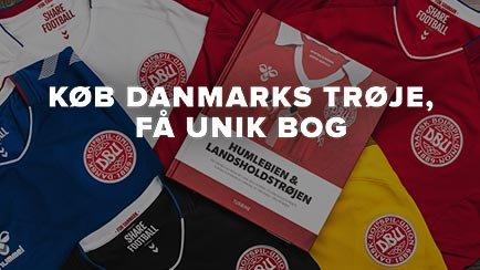 Køb Danmarks trøje - Få unik bog med