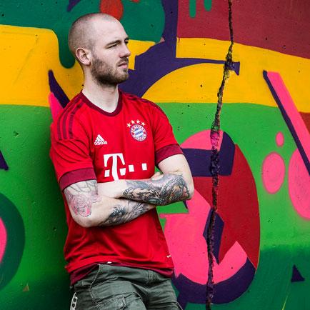 Bayern Münchens nye hjemmebanetrøje er tilbage ...