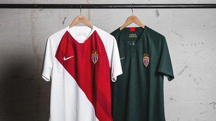 Nouveaux Maillots 2018/19 pour Monaco!