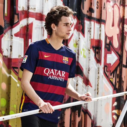 Ny Barcelona hjemmebanetrøje fremmod 2015/2016 ...