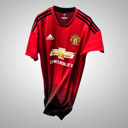 Nieuw Manchester United thuisshirt