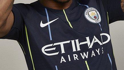 Ny Manchester City bortatröja