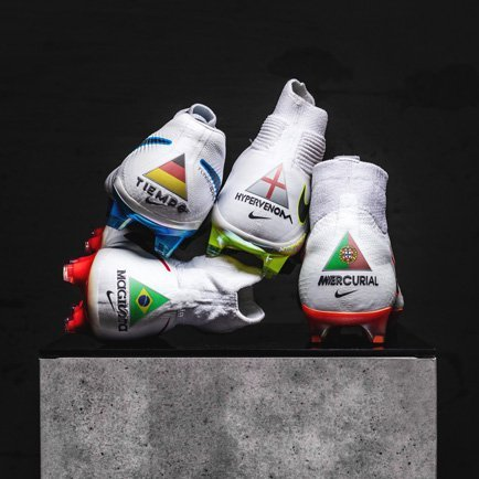 Få flag på dine Nike-støvler