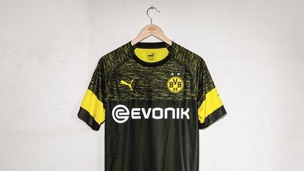 Das neue BVB Auswärtstrikot für die Saison 2018...