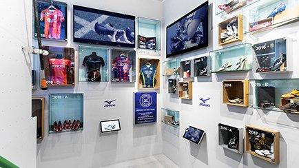 Stor Mizuno-udstilling i vores Flagship Store