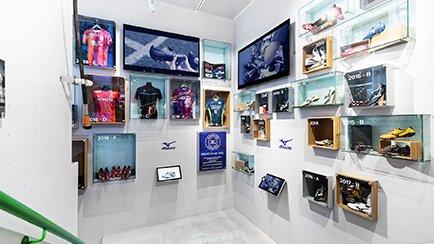 Große Mizuno Ausstellung in unserem Flagship Store