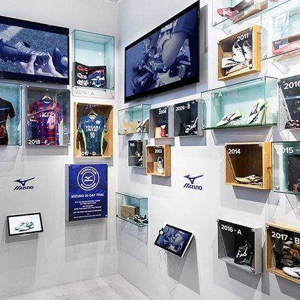 Stor Mizuno-utställning i vår Flagship Store