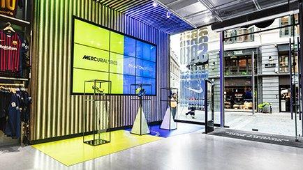 Nike Always Forward in de Unisport Flagship Store