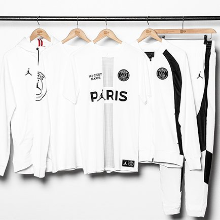PSG x Jordan drop new clothing collection