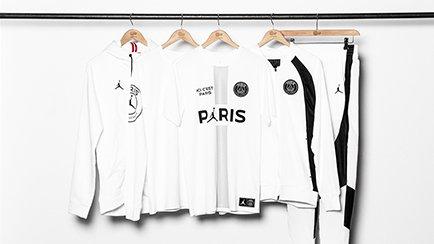 PSG x Jordan drop new clothing collection