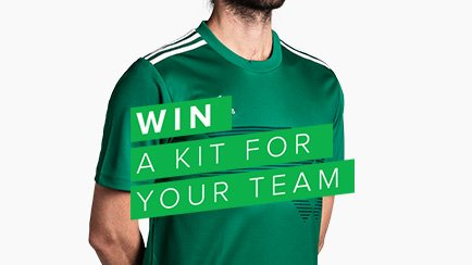 WIN A KIT FOR YOUR TEAM