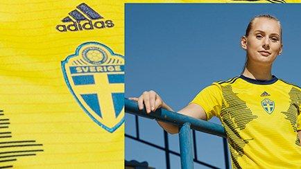Neues Schweden Frauen Heimtrikot für die WM 201...