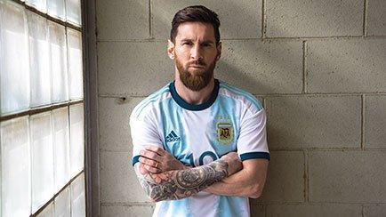 Nieuwe shirts voor Argentinië, Colombia en Mexico