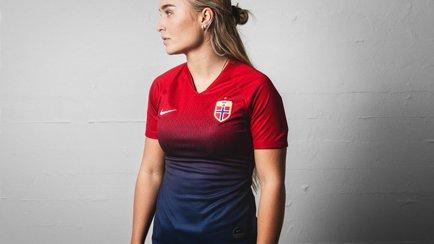 Nikes fete nye Norge-drakt til VM 2019