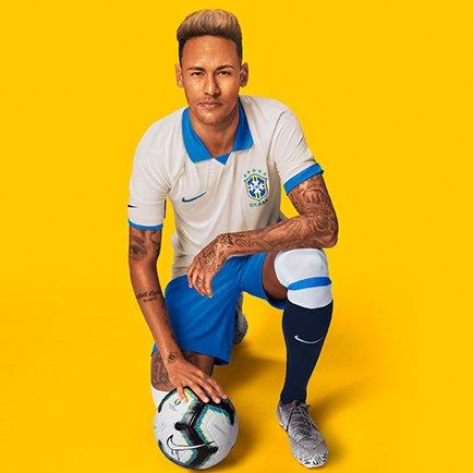 Nike launches white Brazil kit
