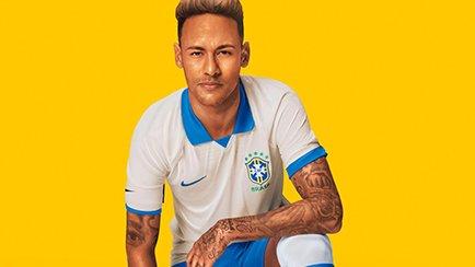 Nike lancerer en hvid Brasilien-trøje