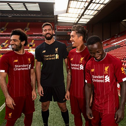 New Liverpool 2019/20 Home Shirt | Get all the ...