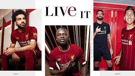 Nouveau maillot domicile de Liverpool 2019/20  ...