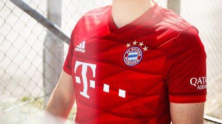 adidas stellt das neue Bayern München Heimtriko...