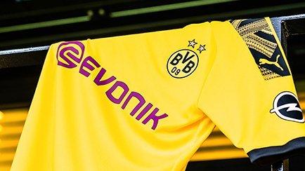 Maillot domicile de Dortmund 2019/20 | A découv...