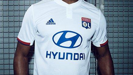 adidas révèle le nouveau maillot de Lyon | A dé...