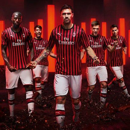 PUMA præsenterer klassisk AC Milan 2019/20 trøje
