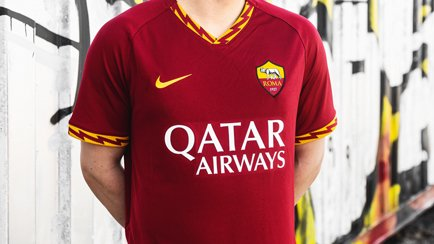 Roma 2019/20 Home Shirt | Get the details at Un...