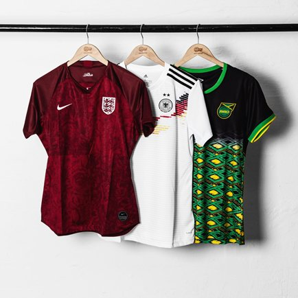 Top 10 Women's World Cup kits