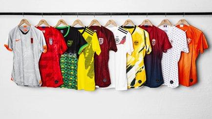Top 10 WK Vrouwen-shirts