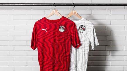 Nieuwe Egypte 2019/20 shirts voor de Afrika Cup...